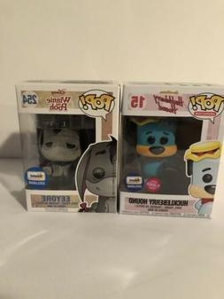 Funko Pop! Flocked Eyeore & Huckleberry Hound Exclusive Figu