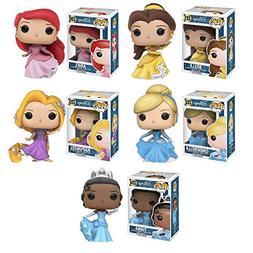 Pop!: Disney Princess: Ariel, Belle, Cinderella, Rapunzel, a