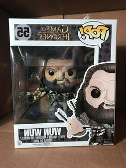 "Funko POP Game Of Thrones 6"" WUN WUN # 55 Vinyl Figure"