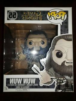 Funko Pop! Game of Thrones Wun Wun Giant 6 Inch Collectible