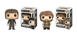 Funko POP! Game of Thrones: Tyrion Lannister and Bran Stark