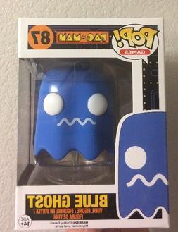 Funko Pop Games 87 Pac-Man Blue Ghost Vinyl Figure Vaulted C
