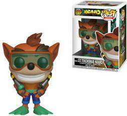 FUNKO POP! GAMES: Crash Bandicoot - Crash w/ Scuba  Vinyl Fi