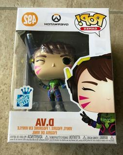Funko Pop! Games: Exclusive Overwatch D.VA Nano Cola Vinyl F