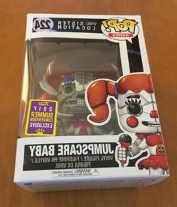Funko Pop Games Sister Location Jumpscare Baby #224 SDCC Exc