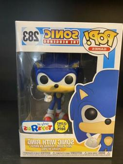 Funko Pop! Games - Sonic The Hedgehog with Ring  #283