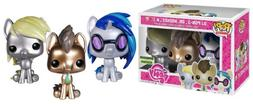 pop glitter little pony vinyl