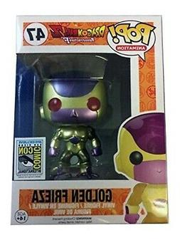 Funko Pop Golden Frieza No. 47 Action Figure with Red Eyes -