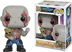 Funko Pop Guardians of the Galaxy Vol. 2 - Drax with Baby Gr