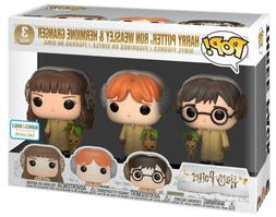 FUNKO POP! Harry Potter 3 pack Harry, Ron Hermione  Vinyl Fi