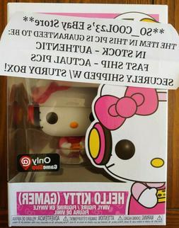 FUNKO POP HELLO KITTY GAMER GAMESTOP EXCLUSIVE VINYL FIGURE
