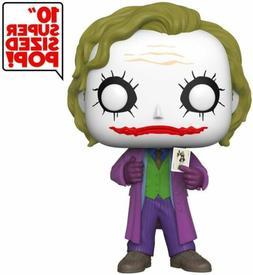 "Funko Pop Heroes: DC Comics The Joker 10"" Super Sized Vinyl"