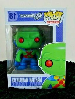 pop heroes dc universe 18 martian manhunter