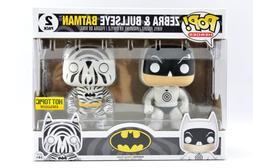 Funko Pop! Heroes ZEBRA & BULLSEYE BATMAN 2 Pack Figures Hot