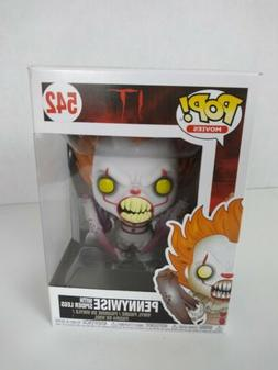 Funko PoP horror Movies IT 2017 Pennywise  4in. Figure #542