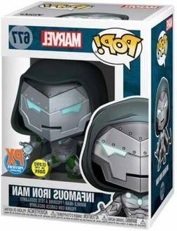 Funko Pop! Infamous Iron Man Dr. Doom Glow Marvel ComicFest