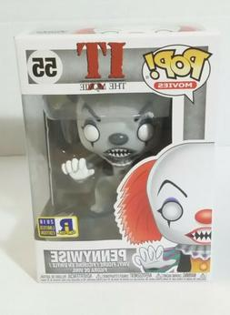 Funko Pop IT PENNYWISE #55 RICC 2018 Exclusive Edition Black