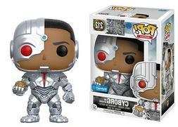 Funko Pop Justice League Movie - Cyborg and Motherbox Walmar