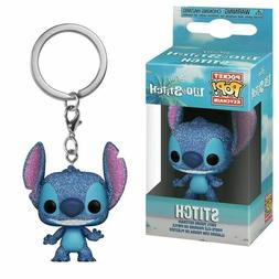 pop keychain diamond edition glitter stitch vinyl