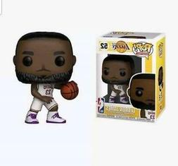 Funko Pop LA Lakers LeBron James White/Purple Vinyl Figure