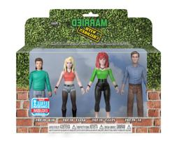 POP! Married with Children Action Figure TOYS ,4 Pack, NYCC