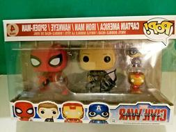 Funko POP! Marvel Captain America Civil War 4 Pack Vinyl Act