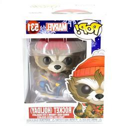 Funko Pop! Marvel Christmas Holiday Rocket Raccoon #531 Viny