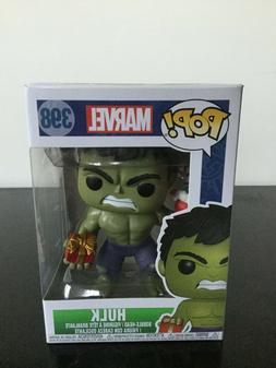 Funko Pop Marvel: Holiday Hulk with Stocking Collectible Fig