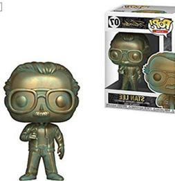 Funko Pop Marvel Icons Stan Lee  #07 Vinyl Figure W/protecto