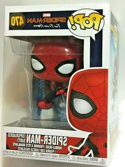 FUNKO Pop Marvel SPIDER-MAN Far From Home UPGRADED SUIT #470