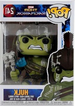 Funko Pop Marvel Thor Ragnarok Hulk Hammer & Helmeted Gladia