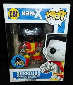 Funko POP! Marvel X-Men **COLOSSUS** #183 Chrome 2016 Comika