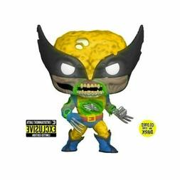pop marvel zombies wolverine gitd vinyl figure
