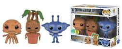 Funko Pop Minis Harry Potter Cornish Pixie, Mandrake and Gri