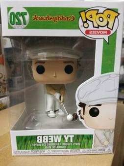 FUNKO POP! MOVIES: CADDYSHACK - TY WEBB #720 VInyl Figure IN