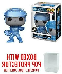 Funko Pop Movies Disney TRON #489 Metallic Glow CHASE Vinyl