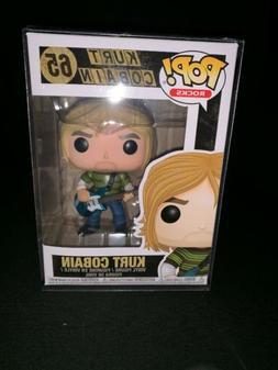 Funko Pop Music: Kurt Cobain  Collectible Figure #65. W/ PRO