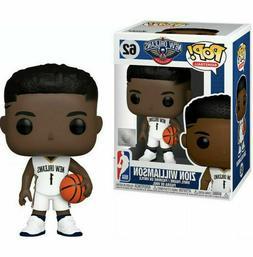 Funko Pop NBA New Orleans Pelicans Zion Williamson Figure NI