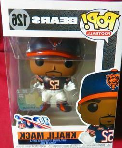 Funko POP! NFL #126 Khalil Mack Brand New Toy Figure Chicago
