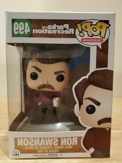 Funko Pop Parks and Recreation Ron Swanson #499 Vinyl Figure