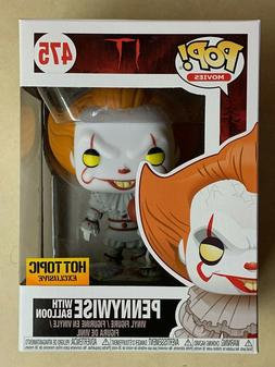 Funko POP Pennywise w/ Balloon IT  Hot Topic Exclusive Vinyl