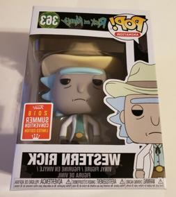 Funko Pop! Rick and Morty Western Rick #363 2018 SDCC Exclus