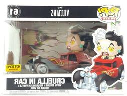 Funko Pop Rides Disney Villains 101 Dalmations Cruella 61 Vi