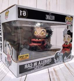 Funko Pop! Rides - Disney Villains Cruella In Car Vinyl Figu