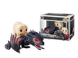 Funko POP Rides: Game of Thrones - Dragon & Daenerys Action