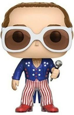 Funko Pop Rocks: Elton John-Red White Blue Collectoble Figur
