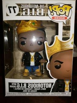 FUNKO POP! ROCKS MUSIC NOTORIOUS B.I.G. WITH CROWN POP FIGUR