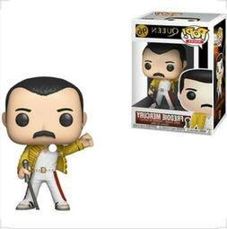 Funko Pop Rocks: Queen Freddie Mercury Wembley Action Figure