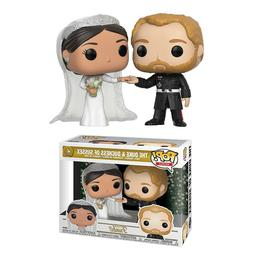 Funko Pop! Royals: Prince Harry and Meghan Markle Collectibl