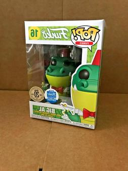 Pop Spastik Plastik Green Big Al Shop Exclusive #16 LE Vinyl
